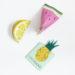 Upcycling Klopapierrollen : Früchte